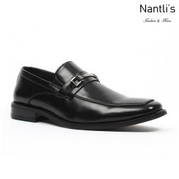 BE-C152 Black Zapatos por Mayoreo Wholesale Mens shoes Nantlis Bonafini Shoes