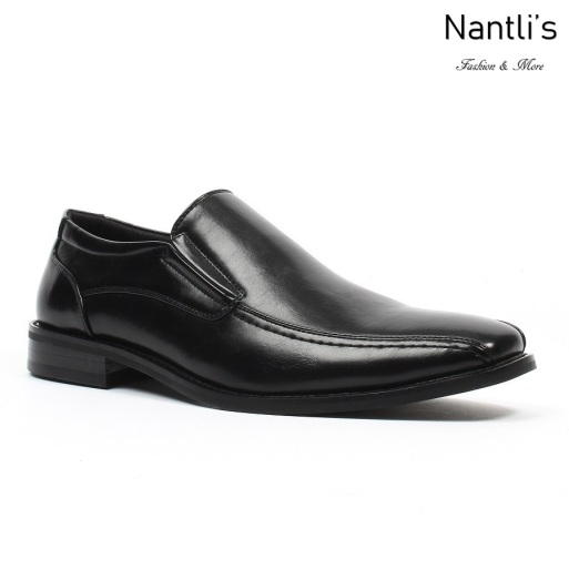 BE-C153 Black Zapatos por Mayoreo Wholesale Mens shoes Nantlis Bonafini Shoes