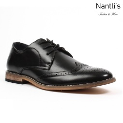 BE-C283 Black Zapatos por Mayoreo Wholesale Mens shoes Nantlis Bonafini Shoes