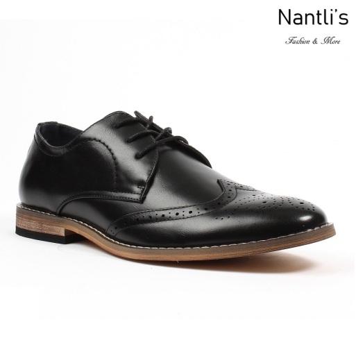 BE-C283 Black Zapatos por Mayoreo Wholesale Mens shoes Nantlis Bonafini Shoes