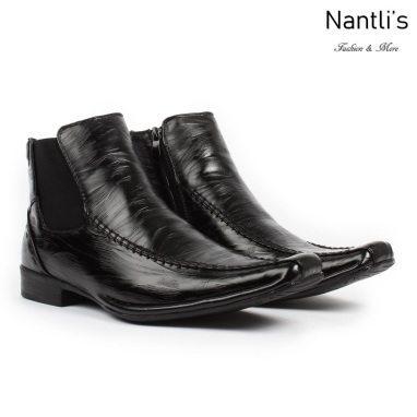 BE-D619 Black Zapatos por Mayoreo Wholesale Mens shoes Nantlis Bonafini Shoes
