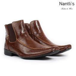 BE-D619 Brown Zapatos por Mayoreo Wholesale Mens shoes Nantlis Bonafini Shoes