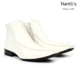 BE-D619 White Zapatos por Mayoreo Wholesale Mens shoes Nantlis Bonafini Shoes
