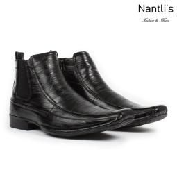 BE-D620 Black Zapatos por Mayoreo Wholesale Mens shoes Nantlis Bonafini Shoes