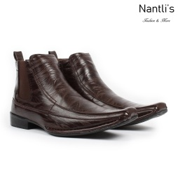 BE-D620 Brown Zapatos por Mayoreo Wholesale Mens shoes Nantlis Bonafini Shoes