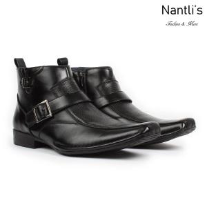 BE-D622 Black Zapatos por Mayoreo Wholesale Mens shoes Nantlis Bonafini Shoes