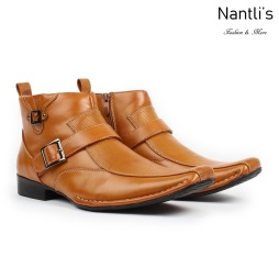 BE-D622 Tan Zapatos por Mayoreo Wholesale Mens shoes Nantlis Bonafini Shoes