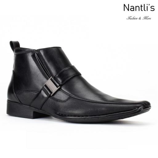 BE-D624 Black Zapatos por Mayoreo Wholesale Mens shoes Nantlis Bonafini Shoes