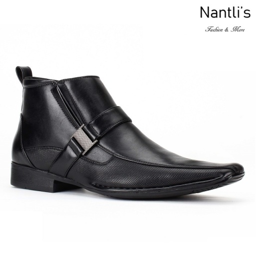 BE-D624 Black Zapatos por Mayoreo Wholesale Mens shoes Nantlis Bonafini Shoes