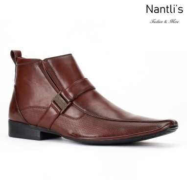 BE-D624 Brown Zapatos por Mayoreo Wholesale Mens shoes Nantlis Bonafini Shoes