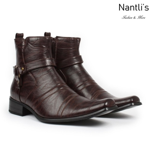 BE-D700 Dark Brown Zapatos por Mayoreo Wholesale Mens shoes Nantlis Bonafini Shoes