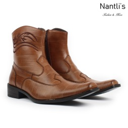 BE-D702 Walnut Zapatos por Mayoreo Wholesale Mens shoes Nantlis Bonafini Shoes