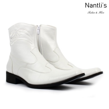 BE-D702 White Zapatos por Mayoreo Wholesale Mens shoes Nantlis Bonafini Shoes