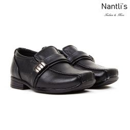 BE-i126 Black Zapatos por Mayoreo Wholesale kids shoes Nantlis Bonafini Shoes