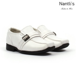 BE-i126 White Zapatos por Mayoreo Wholesale kids shoes Nantlis Bonafini Shoes