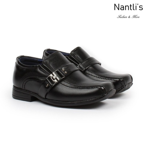 BE-i160 Black Zapatos por Mayoreo Wholesale kids shoes Nantlis Bonafini Shoes