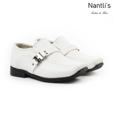 BE-i160 White Zapatos por Mayoreo Wholesale kids shoes Nantlis Bonafini Shoes