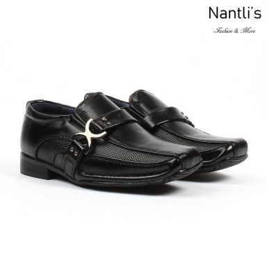 BE-i188 Black Zapatos por Mayoreo Wholesale kids shoes Nantlis Bonafini Shoes
