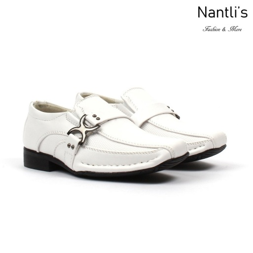 BE-i188 White Zapatos por Mayoreo Wholesale kids shoes Nantlis Bonafini Shoes