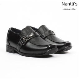 BE-i191 Black Zapatos por Mayoreo Wholesale kids shoes Nantlis Bonafini Shoes
