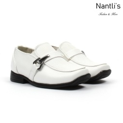 BE-i191 White Zapatos por Mayoreo Wholesale kids shoes Nantlis Bonafini Shoes