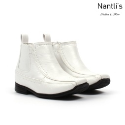 BE-i620 white Zapatos por Mayoreo Wholesale kids shoes Nantlis Bonafini Shoes