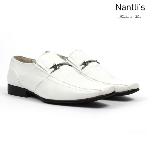BE-J121 White Zapatos por Mayoreo Wholesale kids shoes Nantlis Bonafini Shoes