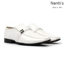 BE-J126 White Zapatos por Mayoreo Wholesale kids shoes Nantlis Bonafini Shoes