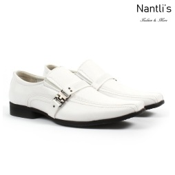 BE-J160 White Zapatos por Mayoreo Wholesale kids shoes Nantlis Bonafini Shoes