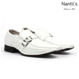 BE-J188 White Zapatos por Mayoreo Wholesale kids shoes Nantlis Bonafini Shoes