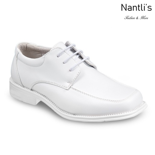 BE-J201 White Zapatos por Mayoreo Wholesale kids shoes Nantlis Bonafini Shoes