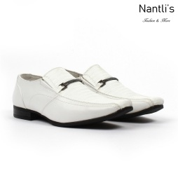 BE-k121 White Zapatos por Mayoreo Wholesale kids shoes Nantlis Bonafini Shoes