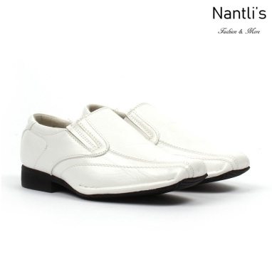 BE-k125 White Zapatos por Mayoreo Wholesale kids shoes Nantlis Bonafini Shoes