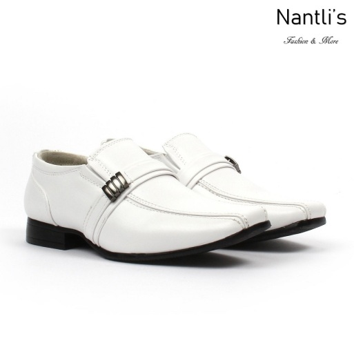 BE-k126 White Zapatos por Mayoreo Wholesale kids shoes Nantlis Bonafini Shoes