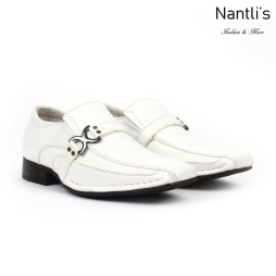 BE-K188 White Zapatos por Mayoreo Wholesale kids shoes Nantlis Bonafini Shoes