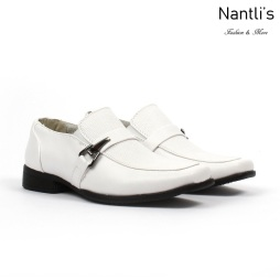 BE-K191 White Zapatos por Mayoreo Wholesale kids shoes Nantlis Bonafini Shoes