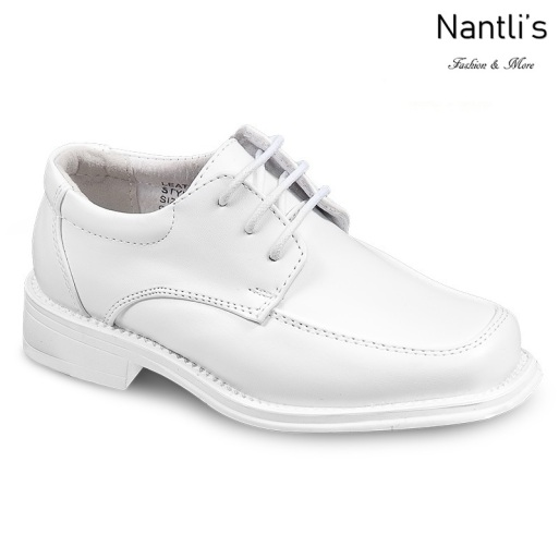 BE-k201 White Zapatos por Mayoreo Wholesale kids shoes Nantlis Bonafini Shoes