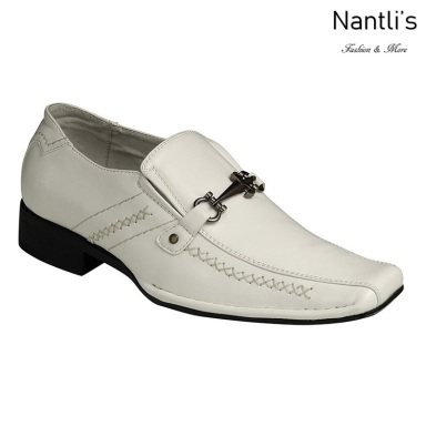 BE-K213 White Zapatos por Mayoreo Wholesale kids shoes Nantlis Bonafini Shoes