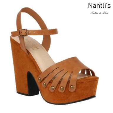 BL-Alden-1 Tan Zapatos de Mujer Mayoreo Wholesale Women Shoes Wedges Nantlis