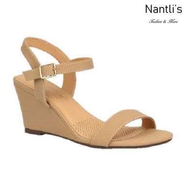 BL-Alice-10 Nude Zapatos de Mujer Mayoreo Wholesale Women Shoes Wedges Nantlis