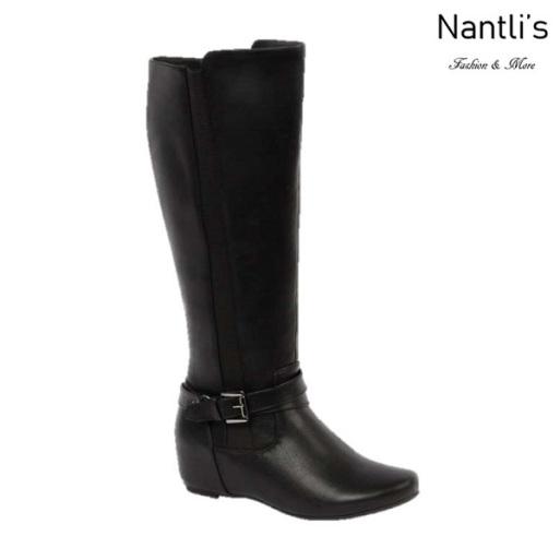 BL-Amar-97W Black Botas de Mujer Mayoreo Wholesale Womens Boots Nantlis