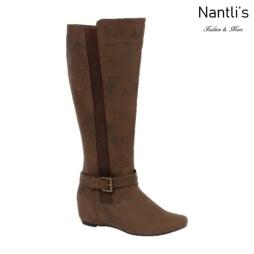 BL-Amar-97W Brown Botas de Mujer Mayoreo Wholesale Womens Boots Nantlis