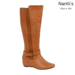 BL-Amar-97W Cognac Botas de Mujer Mayoreo Wholesale Womens Boots Nantlis
