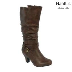 BL-Brand-46 Brown Botas de Mujer Mayoreo Wholesale Womens Boots Nantlis