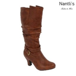 BL-Brand-46 Cognac Botas de Mujer Mayoreo Wholesale Womens Boots Nantlis