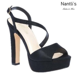 BL-Cecelia-11 Black Zapatos de Mujer Mayoreo Wholesale Women Heels Shoes Nantlis