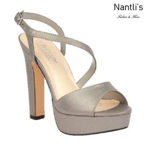 BL-Cecelia-11 Pewter Zapatos de Mujer Mayoreo Wholesale Women Heels Shoes Nantlis