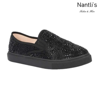 BL-Cherry-43 Black Zapatos de Mujer Mayoreo Wholesale Women sneakers Shoes Nantlis