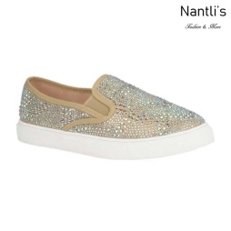 BL-Cherry-43 Rose Gold Zapatos de Mujer Mayoreo Wholesale Women sneakers Shoes Nantlis