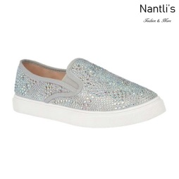 BL-Cherry-43 Silver Zapatos de Mujer Mayoreo Wholesale Women sneakers Shoes Nantlis